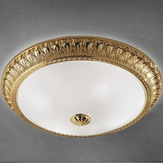 Brass Frame Ceiling Light