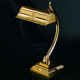 Classic gold plated desk lamp