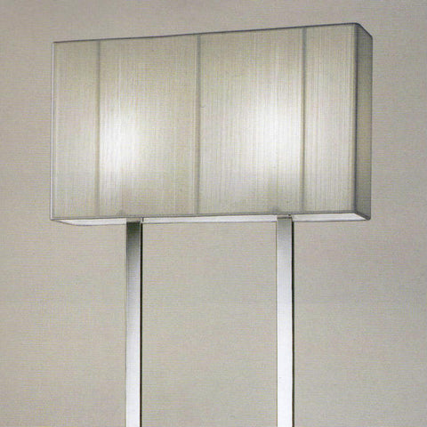 Clavius PT floor lamp from Axolight with silk shades