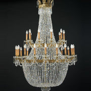 28 Light Empire Style Chandelier