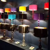 Modern metal table lamp in any RAL or pantone  colour