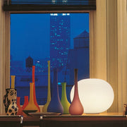 Glo-Ball Basic white glass lamp from Flos