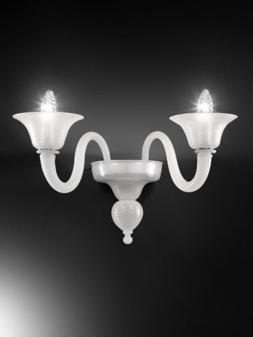Murano Glass Double Wall Light