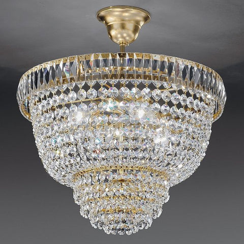 Classic Crystal Glass Ceiling Pendant