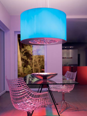 Tian-Xia Metamorphosi pendant with remote control from Artemide