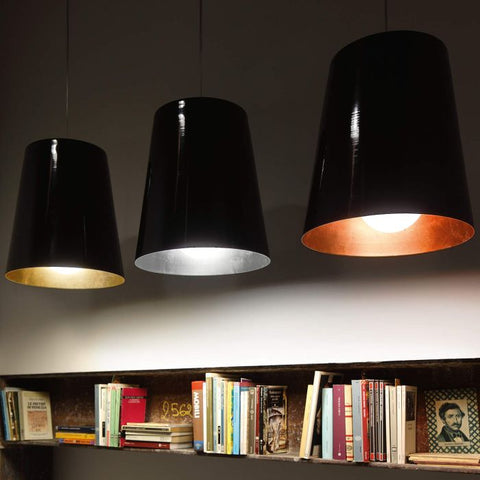 Modern ceiling pendant with any RAL colour finish