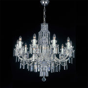 Maria Theresa Scholer crystal Italian chandelier with 10 lights