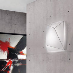 Ukiyo P black, white or orange wall & ceiling light by Axo Lig