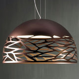 Kelly 80 cm ceiling dome pendant in 3 colours