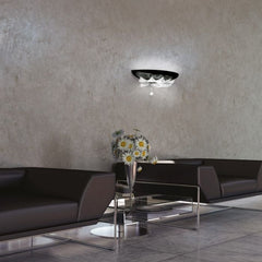 Orleans white or black wall light from Leucos