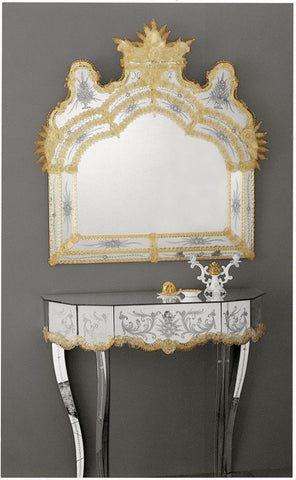 Genuine 17th Century Venetian Mirror