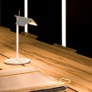 Tab T white or black aluminium table lamp from Flos