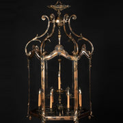 12 Light Brass Lantern