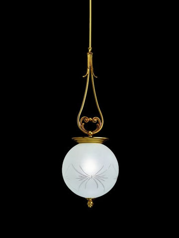 Cast Brass Ceiling Pendant