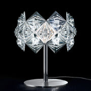 Prisma clear acrylic glass table light by Patrizia Volpato
