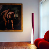 Evita white grey beige red floor lamp from Kundalini