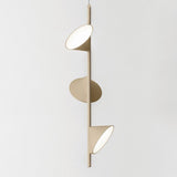 Axo Light triple Scandi style Orchid light in sand