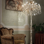 Maria Theresa Crystal Floor Lamp