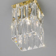 Crystal or prism spotlight with choice of colour