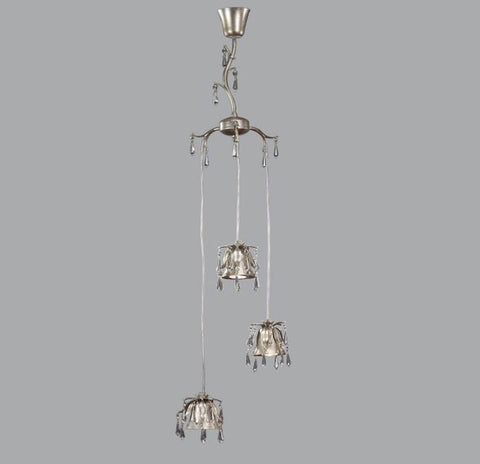 Three Spotlight Chandelier with Swarovski Elements