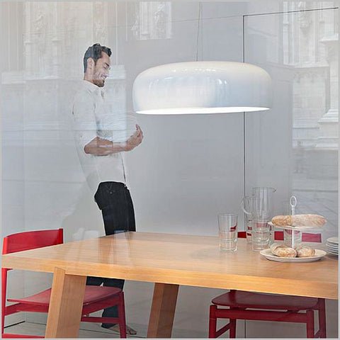 Smithfield S Eco metal ceiling light from Flos in 3 colours