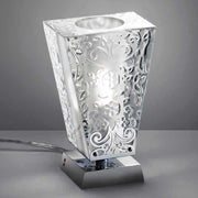 Vicky D69 D01 lead crystal table lamp from Fabbian