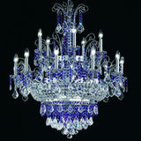 15 Light Lead Crystal Chandelier