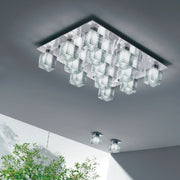 Otto x Otto P13 Murano glass  flush light from De Majo