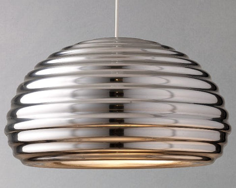 Splugen Brau spun aluminium ceiling pendant light from Flos
