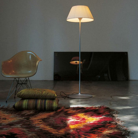 Flos Romeo Soft fabric floor lamp by Philippe Starck