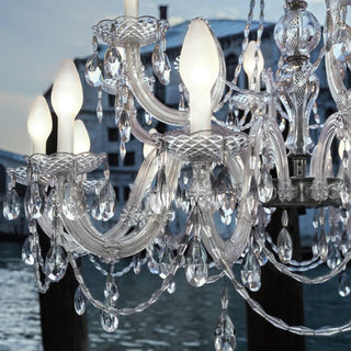 Drylight LED Two Tier Outdoor Chandelier by Studio Stile Masiero for Masiero