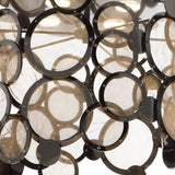 Modern disc wall light with 5 lovely finishes