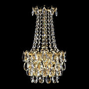 Spectra Swarovski crystal empire-style wall light