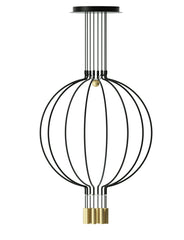 Liaison 8 Part Vertically Stacked Ceiling Pendant