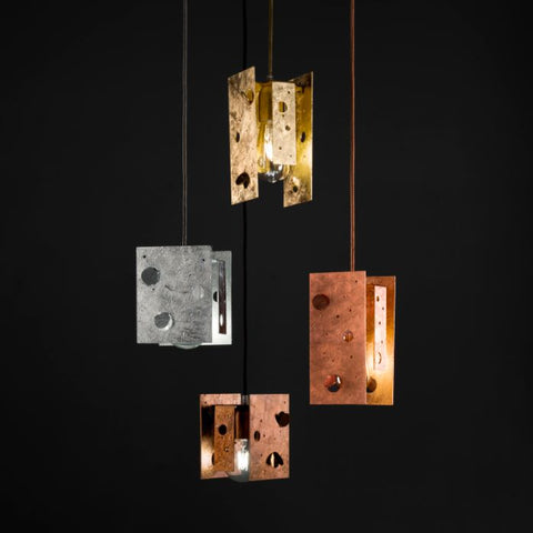 Modern Textured Single Ceiling Pendants
