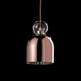 Memoria delicate glass pendant lights