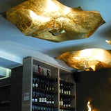 Contemporary Hand Crafted Metal Ceiling Pendant