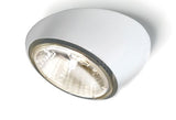 Tools F19 F40 semi-recessed light from Fabbian