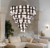 La Lollona Large lightweight chandelier from Slamp in 3 designer finishes