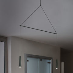 Mikado pendant lights in various combinations