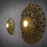 Intricate Asymmetric Ceiling Light