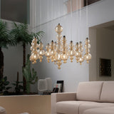 San marco blown glass wall, table and pendant lights