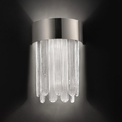 Modern Venetian Hand Made Glass Wall Light
