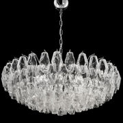 90cm custom Murano glass polyhedral chandelier