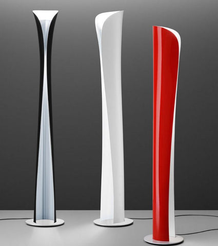 Cadmo painted steel floor lamp in 3 colour-ways from Artemide