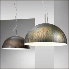 90 cm modern metal pendant light in many finishes