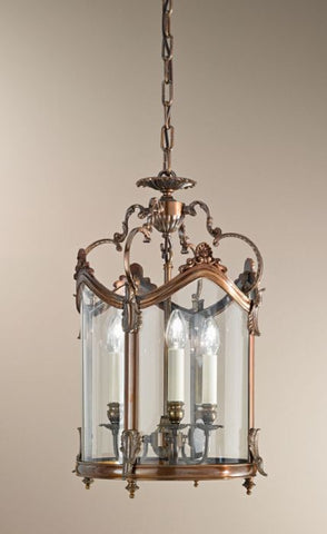 Antique Bronze Italian Lantern