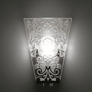 Vicky Fabbian D01 lead crystal wall light