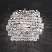 Murano lead crystal wall light
