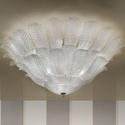 Cast Glass Ceiling Light